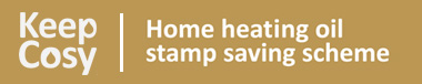 Keep cosy - home heating oil stamp saving scheme