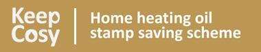 Keep cosy - home heating oil stamp saving scheme