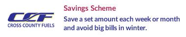 Cross County Fuels - Savings Scheme